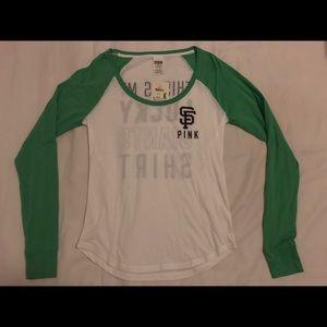 PINK Victoria's Secret SF Giants Lucky T-Shirt